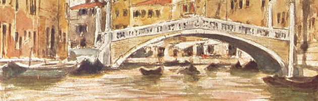 Bridge near the Palazzo Labia