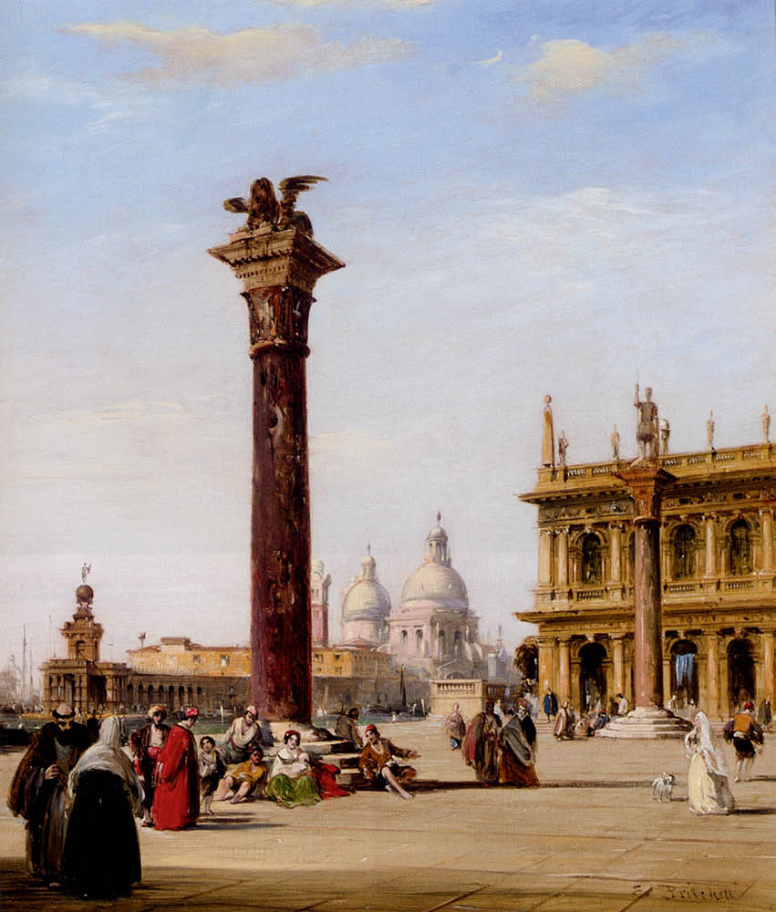 The Piazzetta St. Marks, Venice