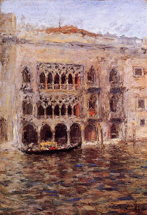 William Merritt Chase, Venice