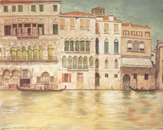 Palazzi on the Canal