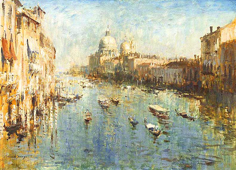 The Grand Canal from the Accademia bridge