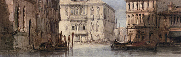 View of the Ca' Foscari on Grand Isle