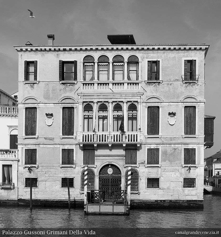 Canal grande di venezia catalogo illustrato palazzi for Palazzi davvero grandi