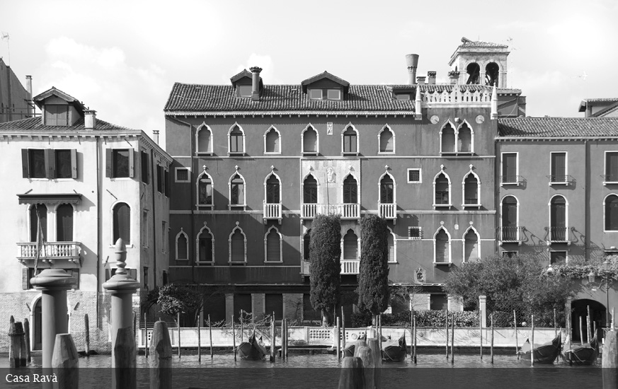 Canal grande di venezia catalogo illustrato casa rav for Piani di palazzi contemporanei